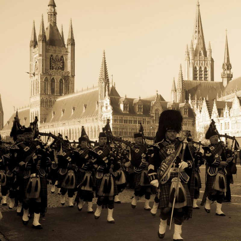 Ypres Surrey Pipes and Drums Meningate