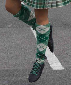 Hoses voor Highland dancing